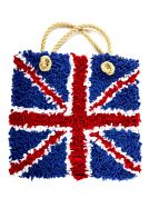 Proggy No Sew Fleece Craft Kit Union Jack Bag Kit