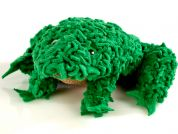 Proggy No Sew Fleece Craft Kit Frog
