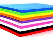 2mm Thick Funky Foam Craft Sheets  Assorted Colours