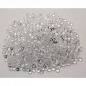 Crystal Scatter Beads  Clear