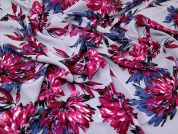 John Kaldor Floral Print Peachskin Dress Fabric