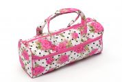 Hobby & Gift Classic Knitting Bag Polka Dot  Rose Pink
