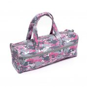 Hobby & Gift Knitting Bag Storage Camouflage Skull Floral