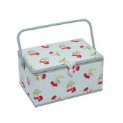 Hobby & Gift Spotty Extra Large Craft Storage Box  Cherry Red