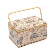 Hobby & Gift Vintage Chairs Extra Large Craft Storage Box