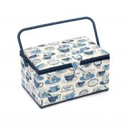 Hobby & Gift Bistro Teacups Extra Large Craft Storage Box