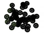 Papercellar Large Round Disc Sequins  Black