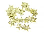 Papercellar Cut Out Glitter Stars  Gold