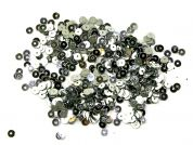 Papercellar Round Flat Sequins  Silver
