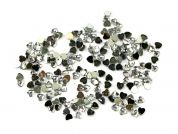 Papercellar Large Heart Shape Gems  Silver