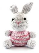 Hoooked DIY Crochet Kit Bunny Toy