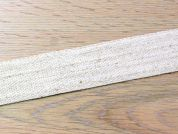 Plain Cotton & Linen Natural Rustic Ribbon