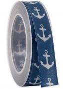 Nautical Print Ribbon