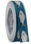 Fish Print Ribbon