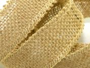 Premium Quality Cut Edge Rustic Hessian Ribbon