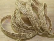 Rustic Hessian Jute Ribbon Braid Trimming