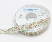 Flower Taffeta Ribbon