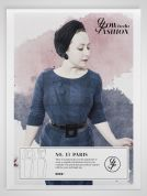 How To Do Fashion Sewing Pattern Paris Dress