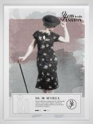 How To Do Fashion Sewing Pattern Sevilla Dress & Skirt