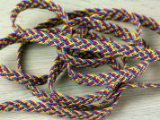 Rainbow Woven Braid Trimming