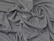 Ponte Roma Jersey Knit Fabric  Grey