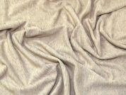 Lady McElroy Viscose Jersey Knit Fabric  Marl Beige
