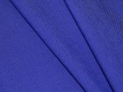 Plain Stretch Denim Dress Fabric  Royal Blue