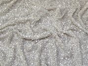 Jaipur Sequin Lace Fabric  Ivory