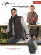Jalie Men & Boys Sewing Pattern 2451 Insulated Gilet