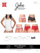 Jalie Ladies & Girls Easy Sewing Pattern 2568 Camisole & Panties
