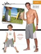 Jalie Men & Boys Sewing Pattern 2678 Board Shorts