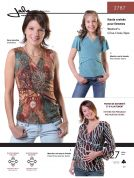 Jalie Ladies & Girls Easy Sewing Pattern 2787 Criss Cross Tops