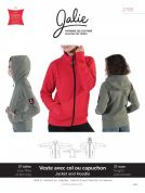 Jalie Ladies & Childrens Sewing Pattern 2795 Zip Front Jacket & Hoodie