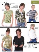 Jalie Ladies & Girls Easy Sewing Pattern 2085 Jersey Knit T Shirts