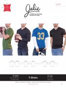 Jalie Mens & Boys Easy Sewing Pattern 2918 Jersey Knit T Shirts