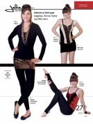 Jalie Ladies & Girls Easy Sewing Pattern 2920 Leggings, Stirrup Tights & Mini Skirt