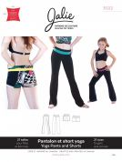 Jalie Ladies & Girls Easy Sewing Pattern 3022 Yoga Pants & Shorts