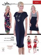 Jalie Ladies & Girls Easy Sewing Pattern 3024 Jersey Knit Dresses
