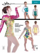 Jalie Ladies & Girls Sewing Pattern 3026 Gymnastics Leotards
