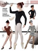 Jalie Ladies & Girls Sewing Pattern 3136 Leotards & Dresses