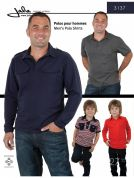 Jalie Men & Boys Sewing Pattern 3137 Polo Shirts