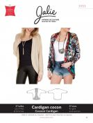 Jalie Ladies & Girls Easy Sewing Pattern 3353 Cocoon Cardigan