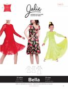 Jalie Ladies & Girls Easy Sewing Pattern 3460 Bella Fit & Flare Dress