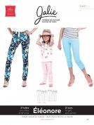 Jalie Ladies & Girls Sewing Pattern 3461 Eleonore Pull On Jeans