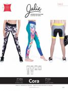Jalie Ladies & Girls Easy Sewing Pattern 3462 Cora Tights & Shorts