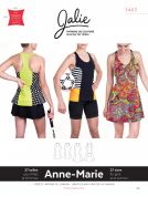 Jalie Ladies & Girls Easy Sewing Pattern 3463 Anne Marie Tanks & Dress