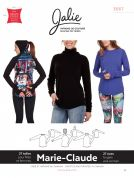 Jalie Ladies & Girls Easy Sewing Pattern 3667 Marie Claude Raglan Sweaters