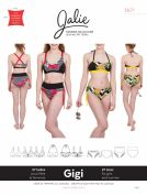 Jalie Ladies & Girls Sewing Pattern 3671 Gigi Bikinis