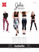 Jalie Ladies & Girls Sewing Pattern 3674 Isabelle Leggings & Skating Pants