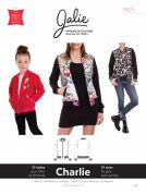Jalie Ladies & Girls Sewing Pattern 3675 Charlie Bomber Jacket